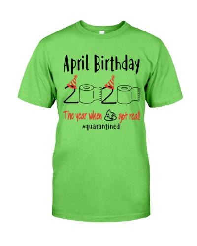 April Birthday 2020 Quarantined