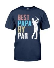 Best Papa by Par - V1 Classic T-Shirt front