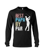 Best Papa by Par - V1 Long Sleeve Tee thumbnail