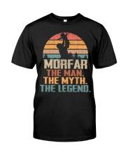 Morfar - The Man - The Myth - V1 Classic T-Shirt front