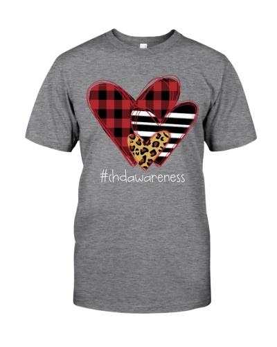 Love chdawareness - three heart