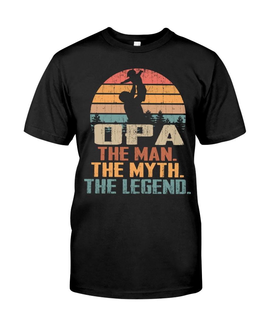 Opa - The Man - The Myth - V1 Classic T-Shirt