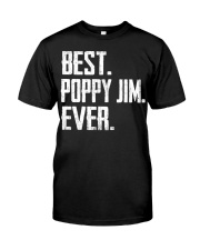 New - Best Poppy Jim Ever Classic T-Shirt front