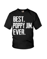 New - Best Poppy Jim Ever Youth T-Shirt thumbnail