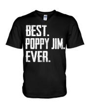 New - Best Poppy Jim Ever V-Neck T-Shirt thumbnail