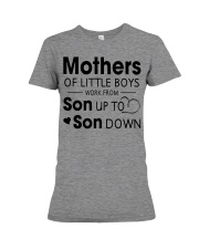 Mother and son Premium Fit Ladies Tee thumbnail