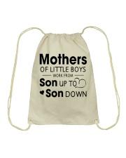 Mother and son Drawstring Bag thumbnail