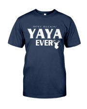 Best buckin' YaYa ever RV1 Classic T-Shirt front