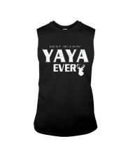 Best buckin' YaYa ever RV1 Sleeveless Tee thumbnail