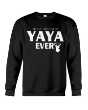 Best buckin' YaYa ever RV1 Crewneck Sweatshirt thumbnail