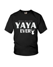 Best buckin' YaYa ever RV1 Youth T-Shirt thumbnail