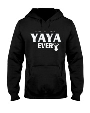 Best buckin' YaYa ever RV1 Hooded Sweatshirt thumbnail