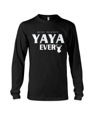 Best buckin' YaYa ever RV1 Long Sleeve Tee tile
