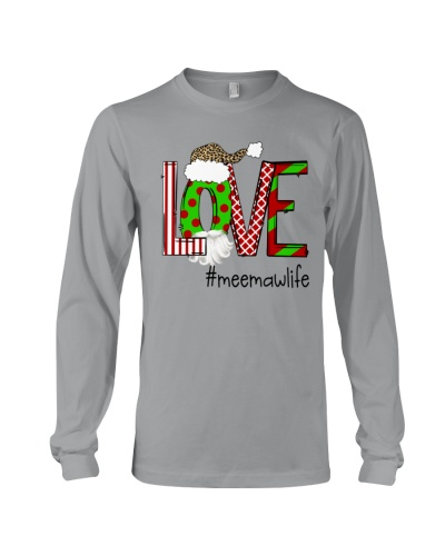 Love Meemaw Life - Christmas