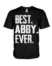 New - Best Abby Ever V-Neck T-Shirt thumbnail