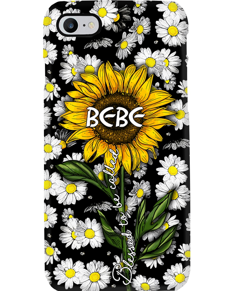 Blessed to be called Bebe - Sunflower art Phone Case