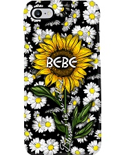Blessed to be called Bebe - Sunflower art Phone Case i-phone-7-case