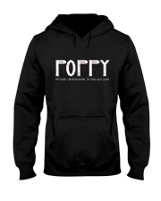 Poppy because grandfather for old guy - RV4 Hooded Sweatshirt thumbnail