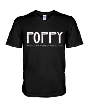 Poppy because grandfather for old guy - RV4 V-Neck T-Shirt thumbnail