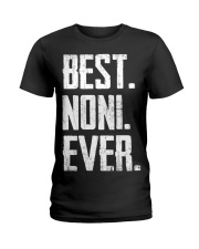 New - Best Noni Ever Ladies T-Shirt thumbnail