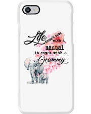 Life comes with Grammy Phone Case thumbnail