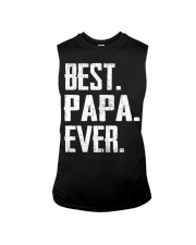 New - Best PaPa Ever Sleeveless Tee front