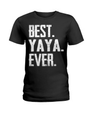 New - Best YaYa Ever Ladies T-Shirt thumbnail