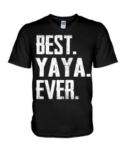 New - Best YaYa Ever V-Neck T-Shirt thumbnail