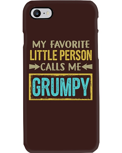 My Little Calls Me Grumpy
