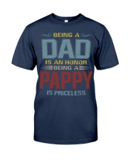 Being a Pappy is priceless Classic T-Shirt front