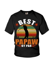 Best Papaw ever Youth T-Shirt thumbnail