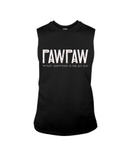 Pawpaw because grandfather for old guy - RV4 Sleeveless Tee thumbnail