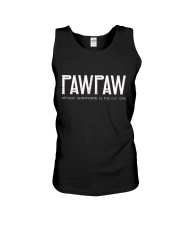 Pawpaw because grandfather for old guy - RV4 Unisex Tank thumbnail