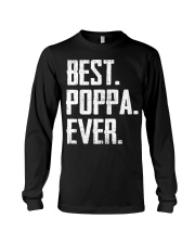 New - Best Poppa Ever Long Sleeve Tee thumbnail