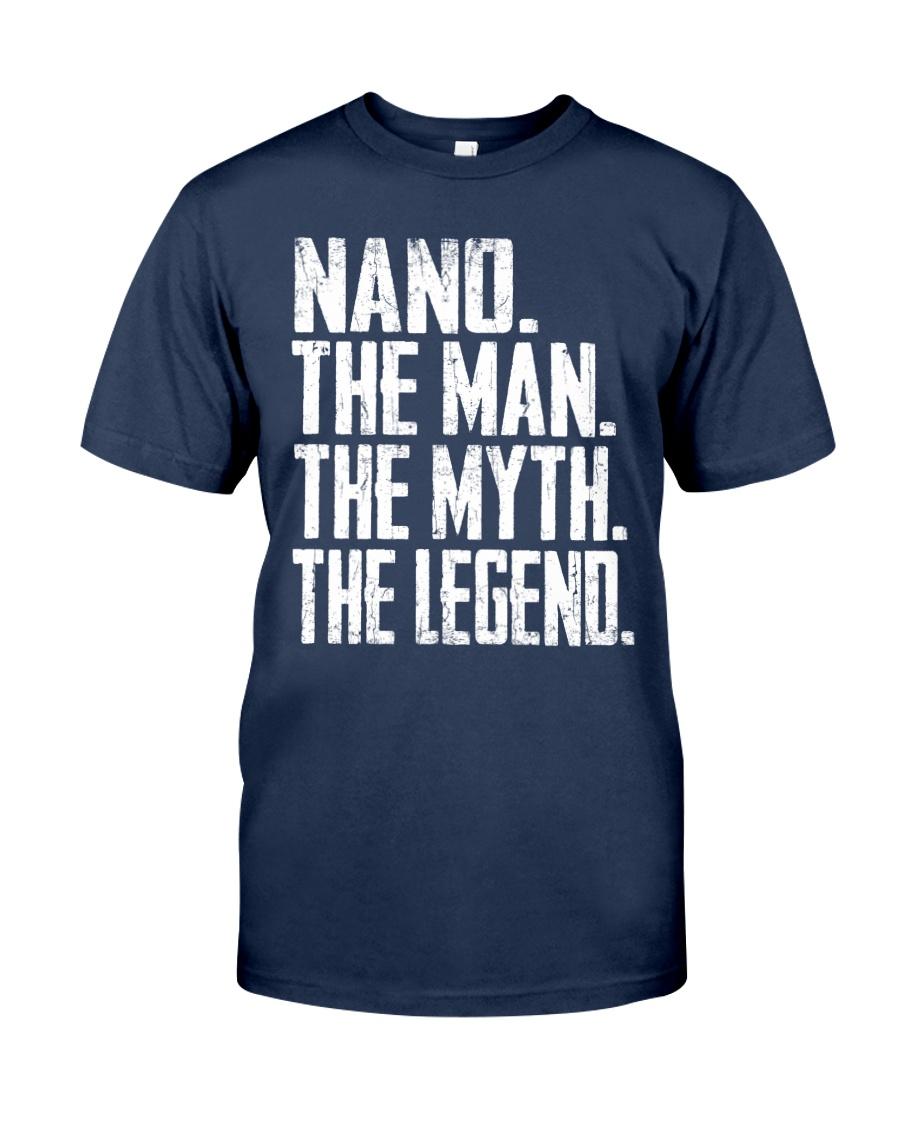 Nano - The Man - The Myth - V2 Classic T-Shirt