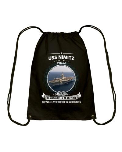 Navy Veteran Proud - USS Nimitz CVN 68