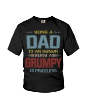 Being a Grumpy is priceless Youth T-Shirt thumbnail