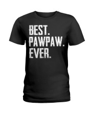 New - Best Pawpaw Ever Ladies T-Shirt thumbnail