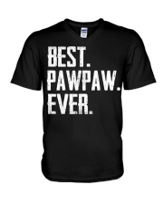 New - Best Pawpaw Ever V-Neck T-Shirt thumbnail