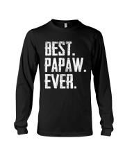 Best Papaw Ever - V1 Long Sleeve Tee thumbnail