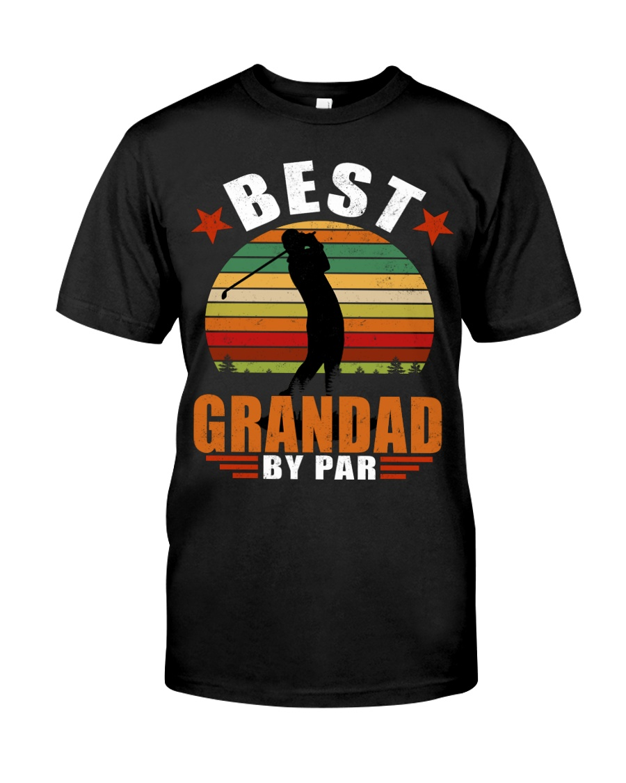 Best Grandad By Par Classic T-Shirt