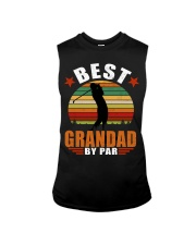 Best Grandad By Par Sleeveless Tee thumbnail