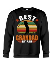 Best Grandad By Par Crewneck Sweatshirt thumbnail