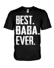 New - Best Baba Ever V-Neck T-Shirt thumbnail