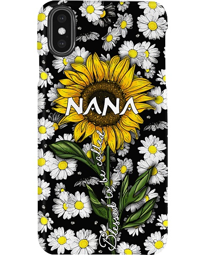 Blessed to be called  nana - Sunflower art
