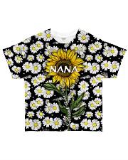 Blessed to be called  nana - Sunflower art All-over T-Shirt thumbnail