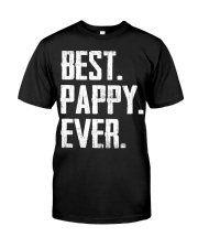 New - Best Pappy Ever Classic T-Shirt front
