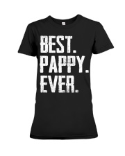 New - Best Pappy Ever Premium Fit Ladies Tee thumbnail
