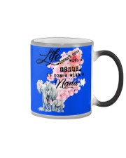 Life doesn't come with a manual it comes with Nana Color Changing Mug thumbnail