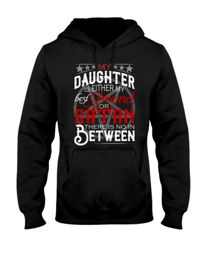 My daughter is either